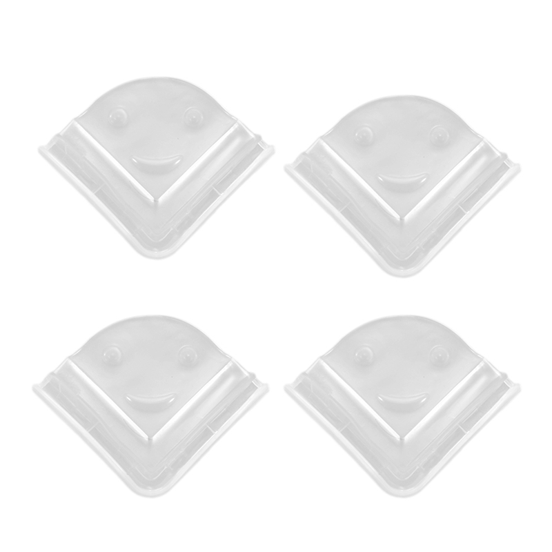 4pcs Soft Baby Kid Infant Safety Desk Table Corner Edge Protector Cushion Cover Guard