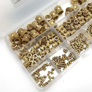 Image 5 - 210pcs/set Brass Cylinder Knurled Threaded Round Insert Embedded Nuts Kit with Plastic Box