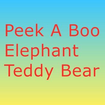 30cm peek um brinquedo de pelúcia do urso de pelúcia do elefante do boo