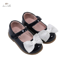 Shoes Dave Bella Bow Spring DB17370 Girls Fashion Solid Children
