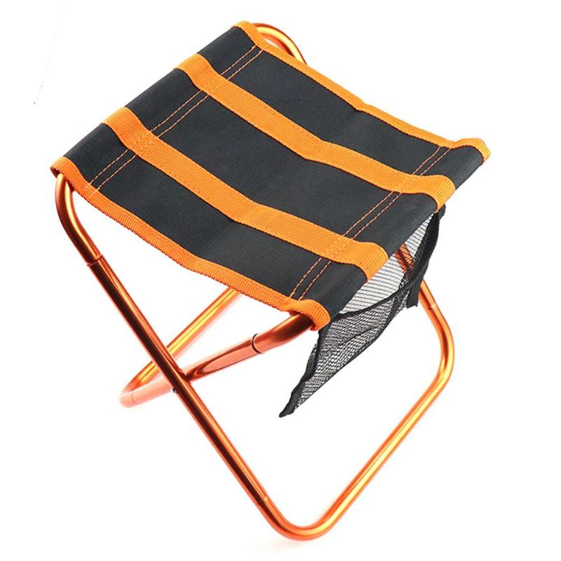 Multifunction Ultralight Outdoor Folding Picnic Barbecue Chair Portable Camping Fishing Foldable Stool Beach Travel BBQ Seat