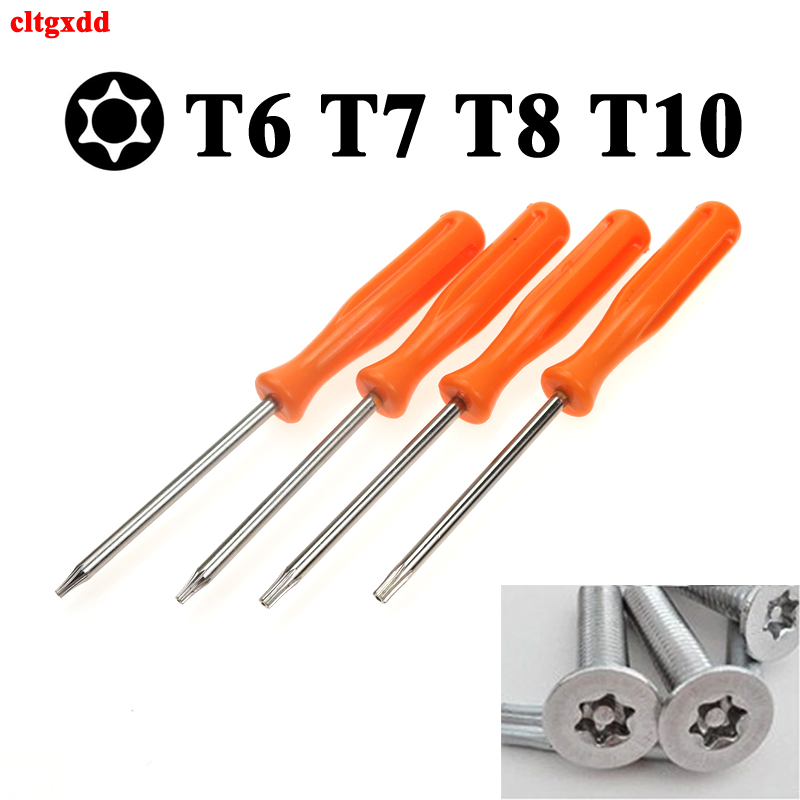 100X TORX T8 T7 T6 T10 Security Precision Tool For Xbox 360  PS3  PS4 Tamperproof Hole With Hole Screwdrivers 100mm