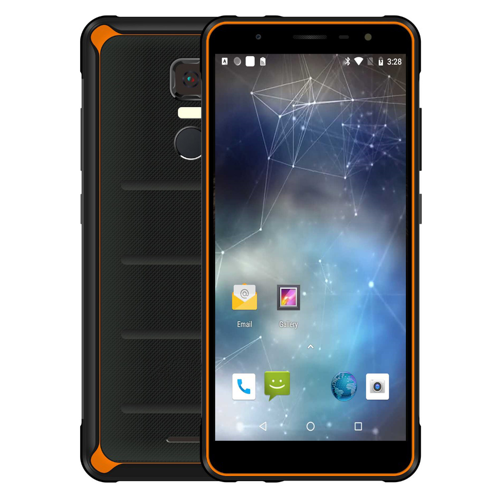 original P10 IP67 Waterproof Mobile Phone rugged <font><b>smartphone</b></font> 5.5 inch octa core <font><b>4GB</b></font> <font><b>RAM</b></font>+<font><b>64GB</b></font> ROM Android 8.1 NFC unlocked Phones image