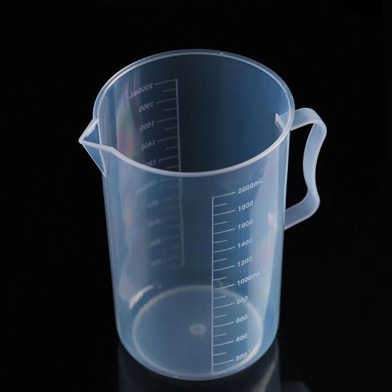 250/500/1000/2000 Ml Spout Kitchen Lab With Handle Measuring Cup Cooking Liquid Pitcher Jug Pour Durable Sale Spout Kitchen Tool
