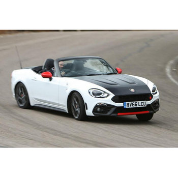 Decoder+Low beam HeadLights For Abarth 124 spider 348 H11  headlights for cars 2pc