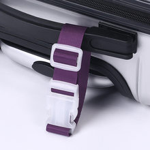 New Adjustable Nylon Luggage Straps Luggage Accessories Hanging Buckle Straps Suitcase Bag Straps(China)