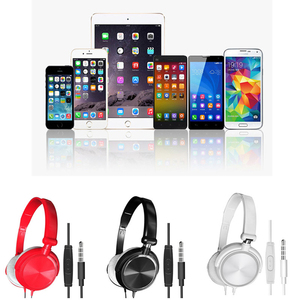 Image 5 - Wired Headphones With Microphone Over Ear Gaming Headset Bass Deep Sound HiFi Music Stereo Headphone Handsfree For Xiaomi PC PS4