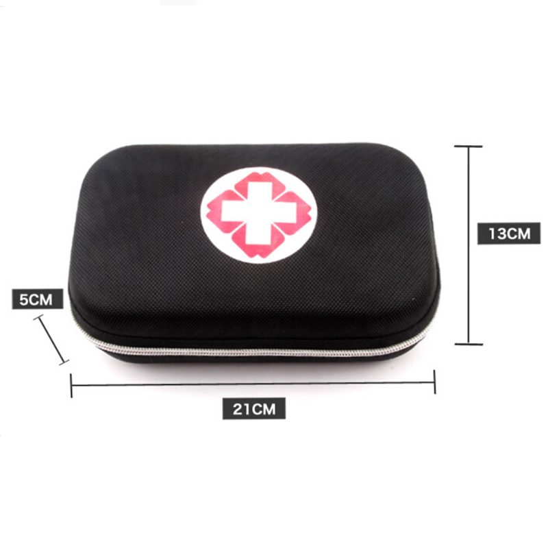 Emergency Medical Survival Treatment Rescue Box First Aid Kit Waterproof EVA Bag Person Portable Outdoor Travel Drug Pack Kits 5