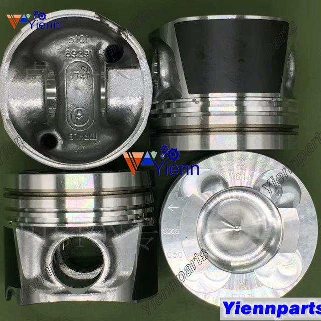 YD25 YD25-DI-T Piston With Pin And Clips STD A2010-EB70A A2010-EB71A A2010-EB72A For Nissan Navara Diesel Engine Spare Parts