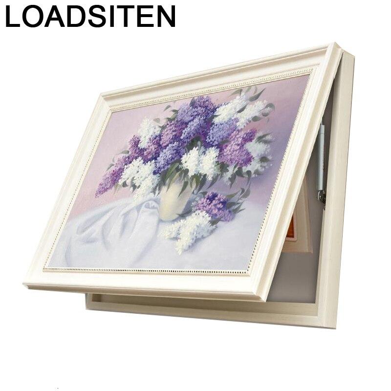 Compteur électrique Cuadro Para El Art Schilderen Op Nummer salon photo décoration Hogar moderne et imprimer affiche peinture