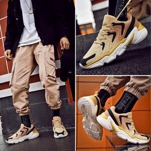 Image 5 - Zapatos deportivos De talla grande para Hombre, zapatillas De deporte masculinas informales, transpirables, con aumento De altura, 46
