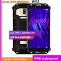 OUKITEL WP2 IP68 Waterproof Dust Shock Proof Mobile Phone 4GB 64GB MT6750T Octa Core 6.0 18:9 10000mAh Fingerprint Smartphone