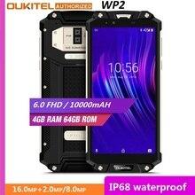 OUKITEL WP2 IP68 Waterproof Dust Shock Proof Mobile Phone 4G