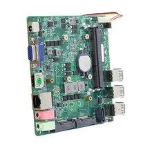 Intel Core i5-5200U Mini PC Motherboard DDR3L mSATA SATA 6 * USB VGA HDMI Mini PCI-E WiFi Bluetooth Gigabit Ethernet DC12V 5A
