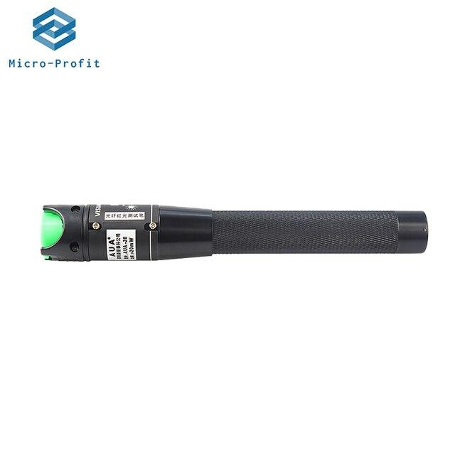20mW VFL Fiber Optic Cable Tester Pen Visual Fault Locator 20KM 650nm FP LD laser