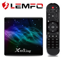 Amlogic S922X TV Box Android 9,0 X88 rey 4GB LPDDR4 tarjeta Micro SD reproductor multimedia Dual Wifi BT5.0 1000M 4K (3840x2160 píxeles)(China)