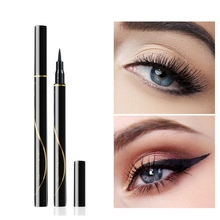 Eye Beauty Makeup  Black Eyeliner Smudge-Proof Waterproof Long-Lasting Colorfast Liquid Liner Eyeliner Pen new 1 pcs black long lasting eye liner pencil waterproof eyeliner smudge proof cosmetic beauty makeup liquid eyeliner pen tools