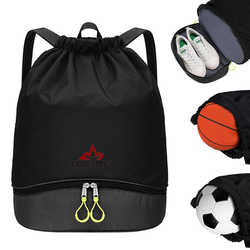 New Swimming Dry Bags Waterproof Beach Sports Bag Women Casual Drawstring Backpack with Shoe Pouch Fitness Training Blosa