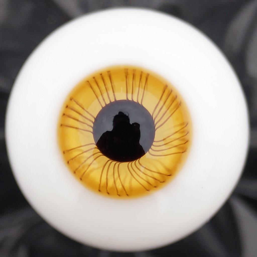 22MM Glass Eyes for DD MK BJD doll Reborn Baby Doll DIY Jewelry Craft Makeup