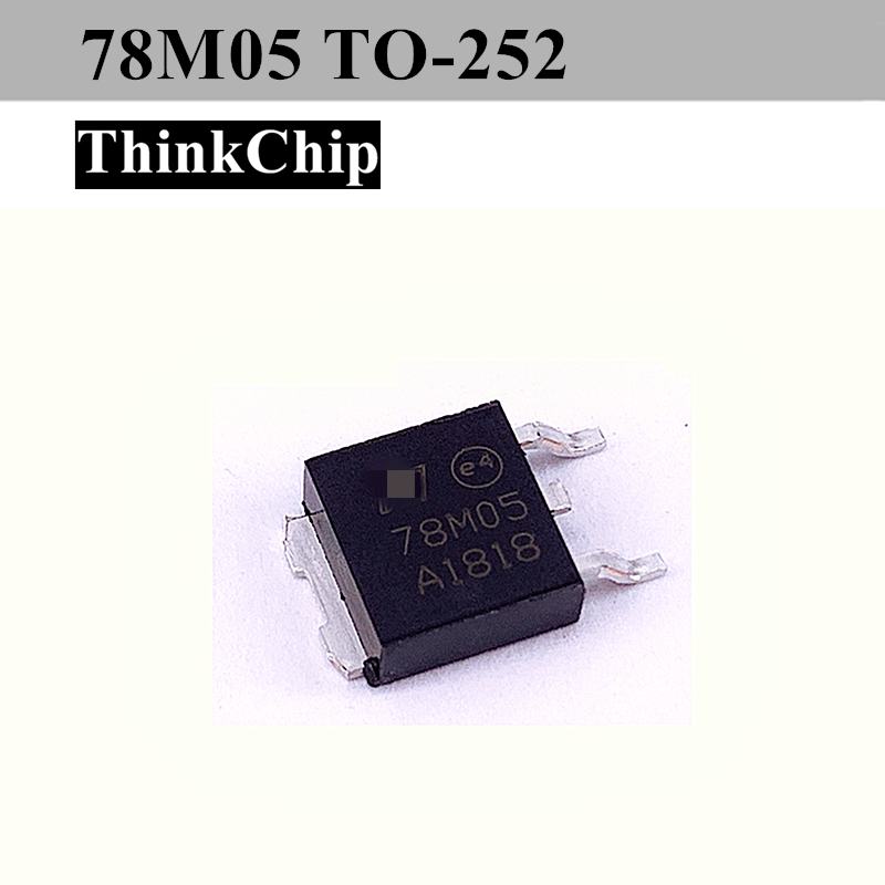 Free Shipping 10pcs/lot L78M05CDT TO252 L78M05 TO-252 78M05  Three-port Current Positive Fixed Voltage Regulator