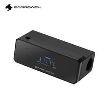BARROWCH Oro Nero Display della Temperatura di Raffreddamento Ad Acqua del PC Watercooling Gadget OLED,FBFT02 V4