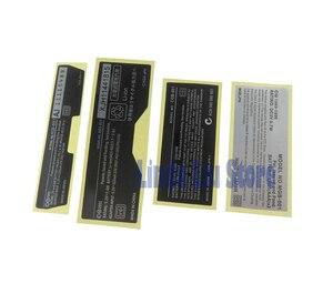 Image 4 - 20 stücke Neue Etiketten Zurück Aufkleber ersatz für Gameboy Advance/ SP/Farbe für GBA/ GBA SP/ GBC/GBP Spiel Konsole
