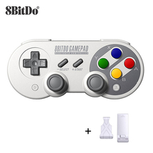 8BitDo SF30 Pro Wireless Bluetooth Gamepad Controller with Joystick for Windows Android macOS Nintendo Switch Steam