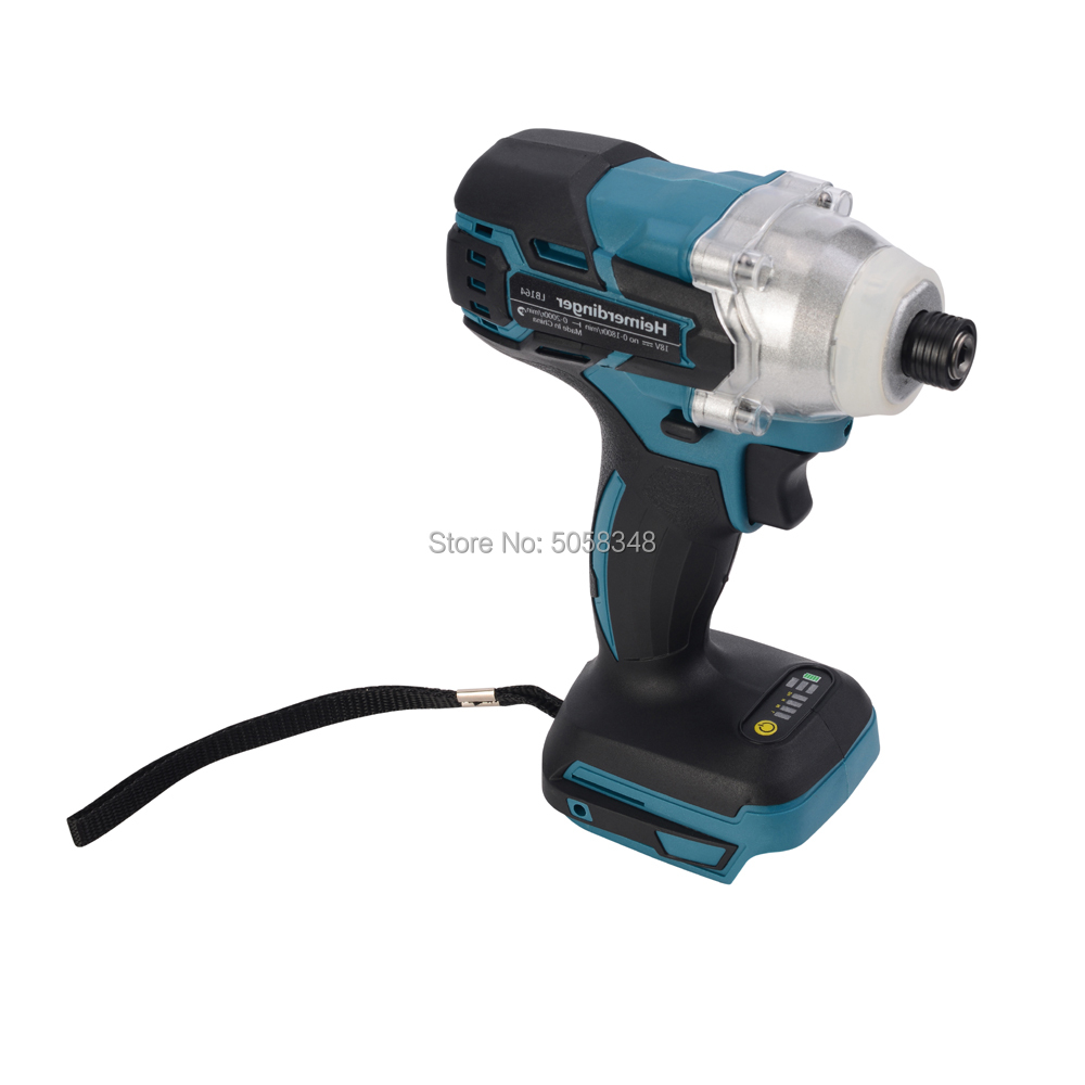 Image 5 - Electric Rechargeable cordless brushless impact driver drill without battery and accessories-in Electric Drills from Tools on