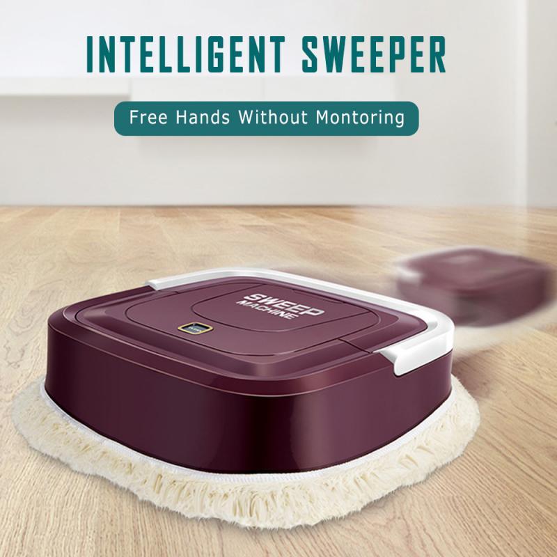Робот-пылесос для уборки пола с USB-зарядкой