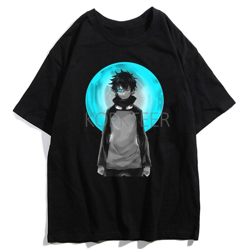 Kekkai Sensen Leonardo Watch Harajuku T-Shirts Women Men Funny Cartoon Summer Short Sleeved T-shirts Fashion Graphic Tops Tees
