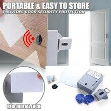 Drawer-Lock Rfid-Card Door-Cabinet Safety Electronic-Lock-Hole Induction Wardrobe
