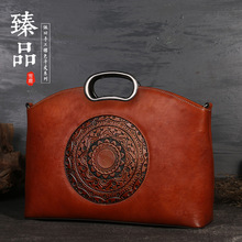 New leather women's bag cross-border women's