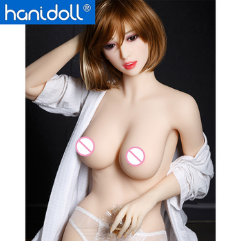 Hanidoll Silicone Sex Dolls 158cm Sex Doll Realistic Lifelike Boobs TPE Sex Doll Love Doll Ass Vagina Adult Sex Toys for Men japanese 158cm real silicone sex dolls for men realistic mabsturbator vagina pussy adult sexy toys metal skeleton love doll