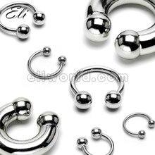 Eli розничная торговля, кольцо для пирсинга, подкова, модное ювелирное изделие, кольцо для носа, перегородка для пирсинга, нержавеющая сталь, ювелирное изделие для тела