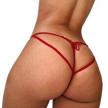 Sexy g-string tanga tanga mulher sexy roupa interior g-string baixo-wasit calcinha erótico roupa interior cuecas femininas