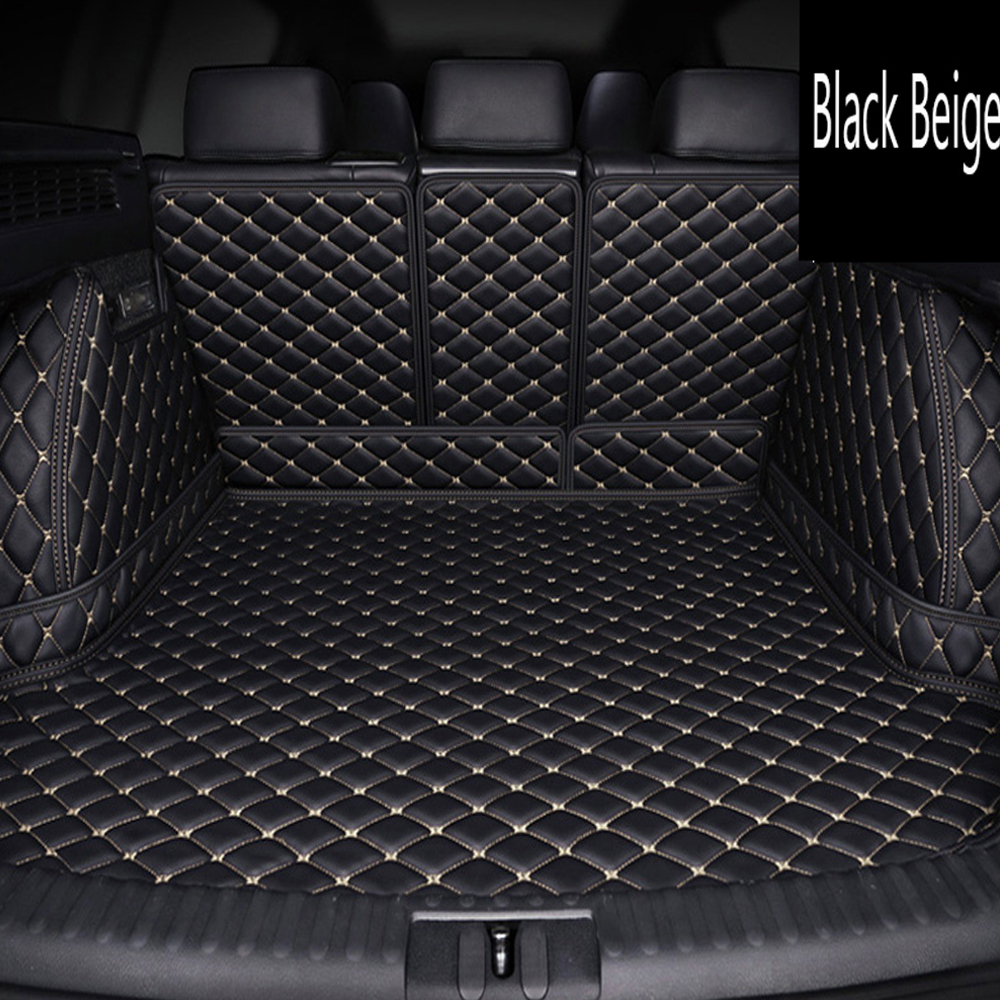 Special made car trunk mats for Honda HRV HR V Vezel 6D heavy duty perfect case rugs car styling carpet leather liners (2014 )