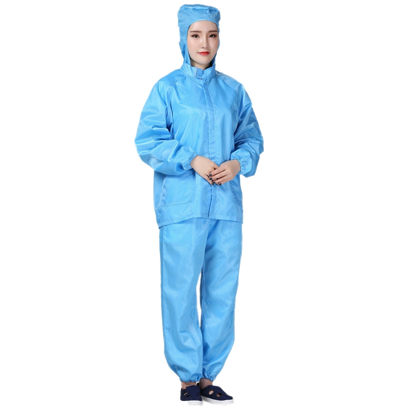 Hooded Anti-Static Split Protective Clothing Suit Isolated Bacteria Anti-Epidemic Dust-Proof Saliva Unisex