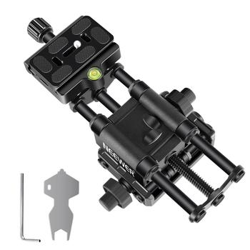Neewer Pro 4-Way Macro Focusing Focus Rail Slider with 1/4-Inch Quick Shoe Plate For Canon Nikon Pentax Olympus Sony and Other shoot 4 way macro focusing rail slider for canon sony nikon pentax close up shooting tripod head with 1 4 screw for dslr camera