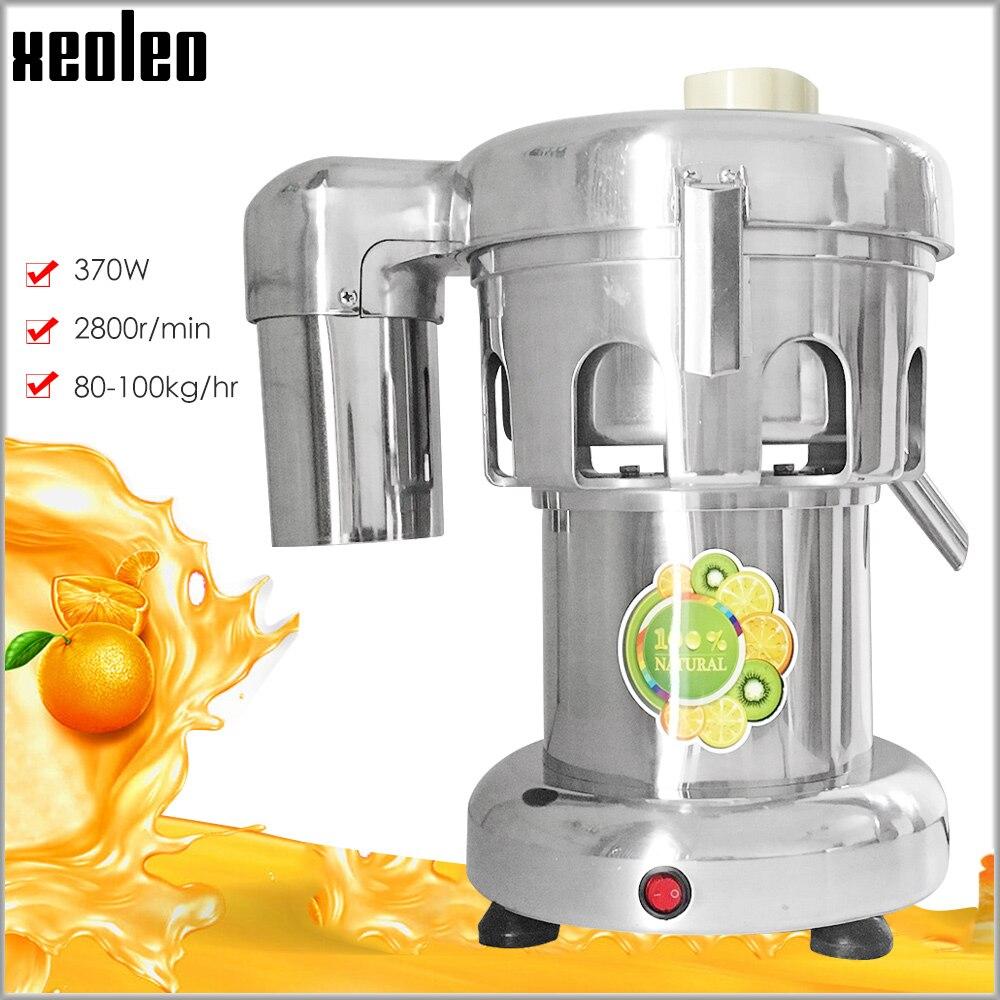 Xeoleo Commercial presse agrumes acier inoxydable jus machine extracteur de jus 220 V/110 V environ 80 kg/hr jus machine presse agrumes machine|juicer machine|juice extractorjuice machine -