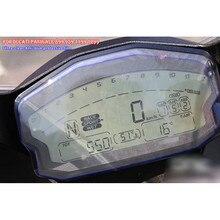 Para ducati panigale 899 959 1199 1299 r motocicleta scratch cluster protetor de filme proteção tela