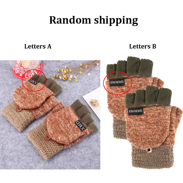 Cute Half Finger Gloves 6