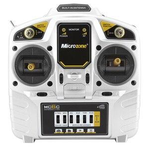 Image 5 - MicroZone système radio émetteur et récepteur de contrôleur 2.4G 6c, pour SU27 RC avion drone multirotor hélicoptère, voiture, bateau