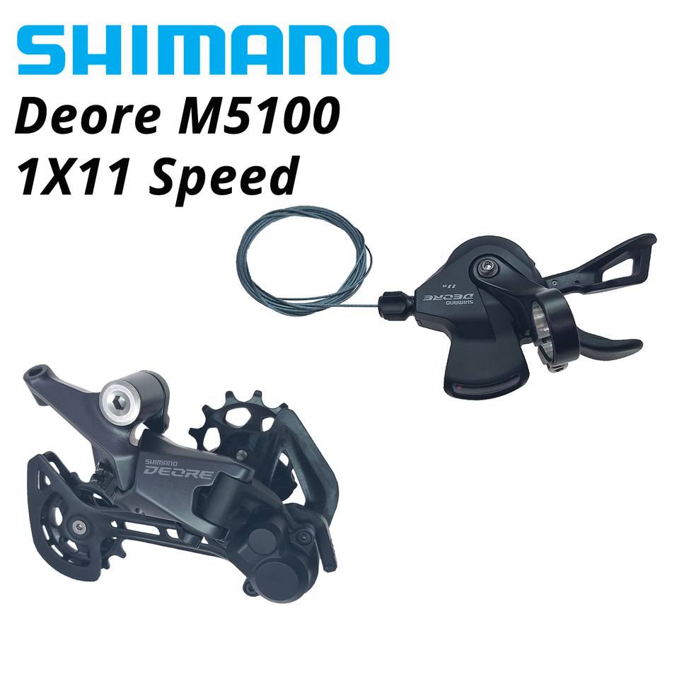 11-Speed Black Shimano Deore SL-M5100-R Right Shift Lever