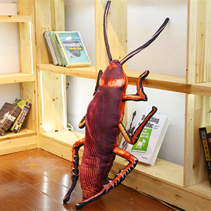 1pc-55-75-95cm-Simulation-Cockroach-Plush-Pillow-Stuffed-Creative-Insect-Toy-for-Kids-Funny-Soft (3)