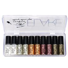 Delineador de glitter líquido para mulheres, maquiagem profissional, delineador de olhos brilhante para mulheres, pigmento coreano
