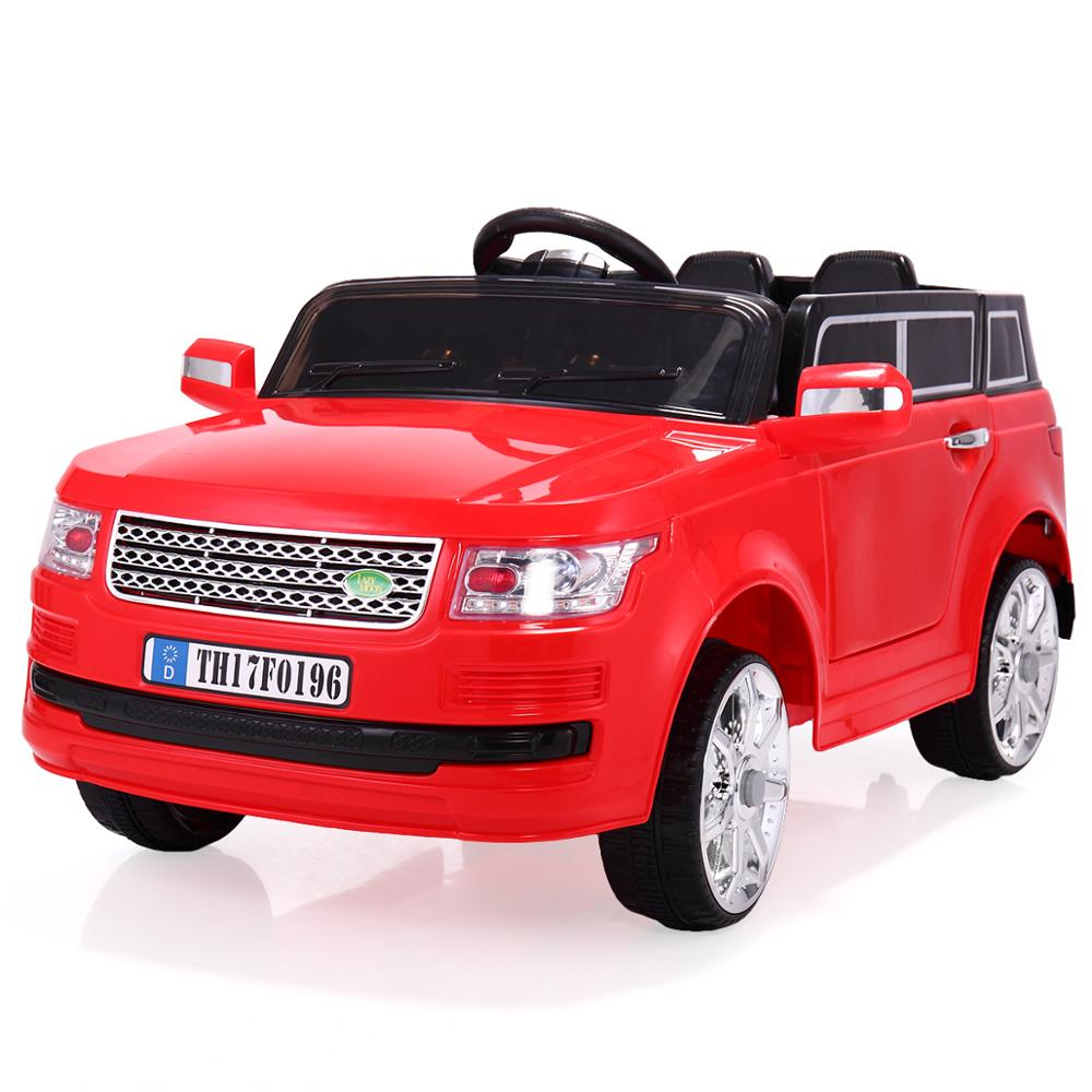 12V Ride On Car Electric Car Vehicles For Kids With Remote Control MP3 Player And LED Lights Children Motorized Car Toy CL5740