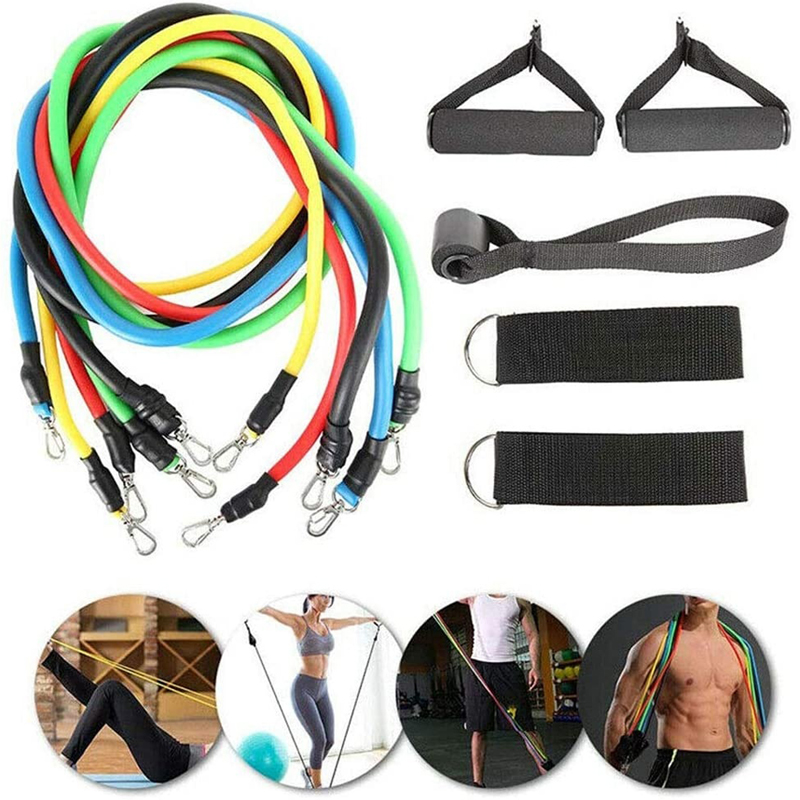 Latex Resistance Bands Rubber Workout Expander Elastic Bands Yoga Tubes Pull Rope Gym Crossfit Training Exercise Fitness Bands image