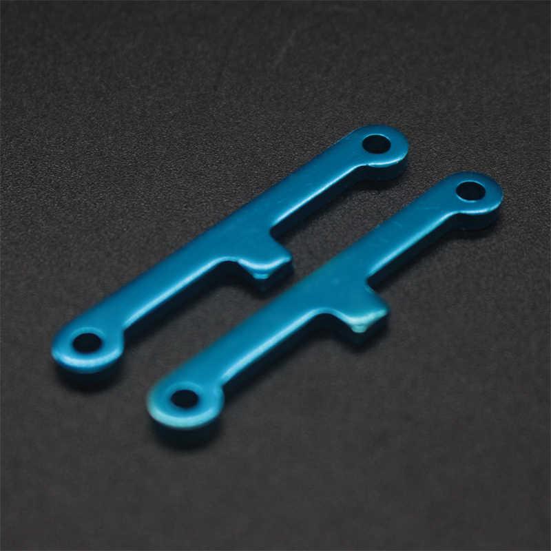 02173 HSP orijinal parçaları yedek parça 1/10 R/C Model araba mavi süspansiyon kolu 02173