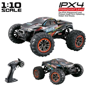XINLEHONG TOYS RC Car 9125 2.4G 1:10 1/10 Scale Racing Car Supersonic Truck Off-Road Vehicle Buggy Electronic Toy(China)