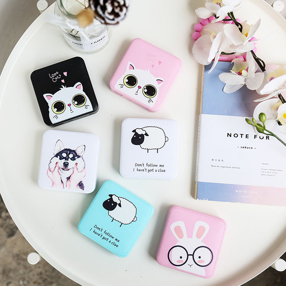 Image 2 - LEMFO Mini Power Bank 10000mah Cute Powerbank 10000 Mah Portable Charger Trust Bank External Battery For Xiaomi Iphone-in Power Bank from Cellphones & Telecommunications